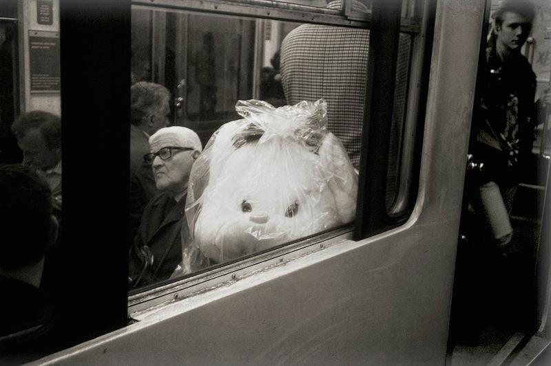 Train in Station, Paris Metro 1996