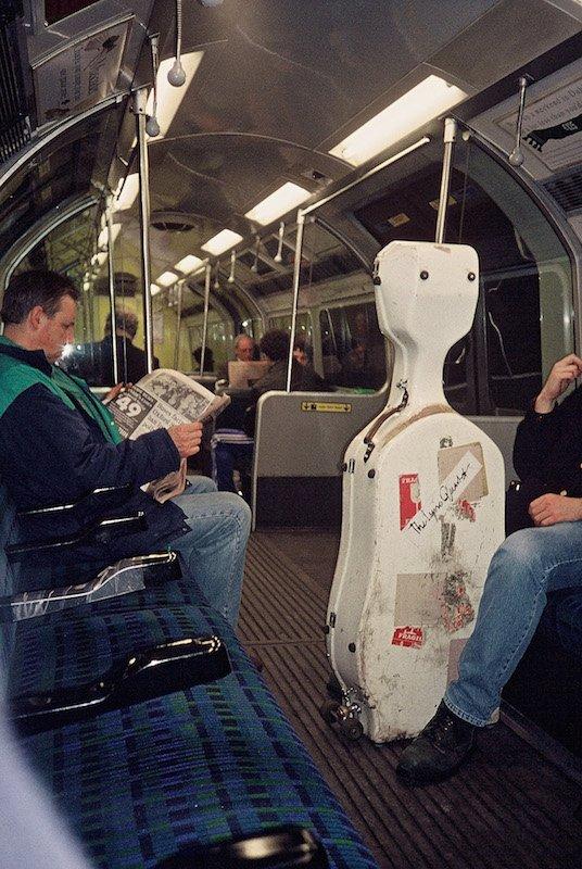 Train Car, London Underground 1993