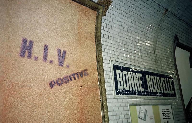 Good News Station, Paris Metro 1993