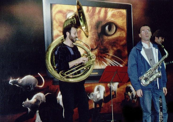 Musicians Inside Station, Paris Metro 1999