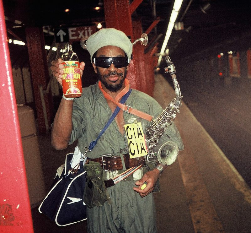 Saxophone Player (Antenna Man), New York Subway 1992