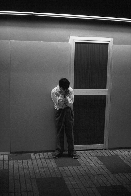 Half Blind Man (Paquito) Chanting for Spare Change, Liceu Station, Barcelona Metro 1991