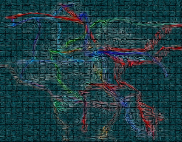 """Los Angeles CAD Drawing with New Digital Effects #7"""
